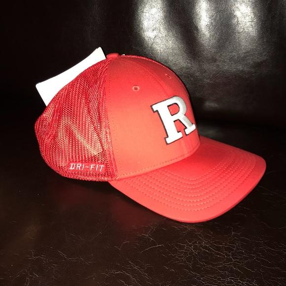 Nike DRIFIT Rutgers Hat NWT 98f8dd9151d
